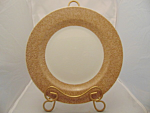 Pier 1 Textured Bands Dinner Plate(S)