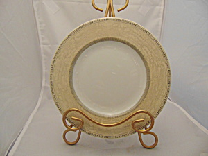 Johnson Acanthus Greek Key Oval Platter