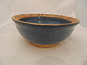 Always Azul Blue Pottery From Villa Grove, Co Usa Soup/cereal Bowl(S)