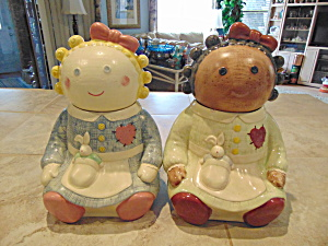 Treasure Craft Sugar And Spice Cookie Jars Very Collectible Set Of 2
