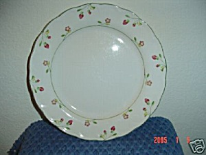 Nikko Versailles Strawberry Dinner Plates
