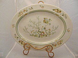 Royal Doulton Tonkin 13 In. Oval Platter Vintage 1975-1992