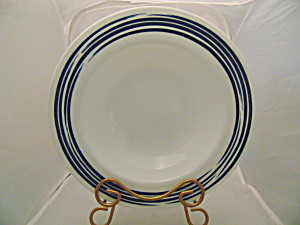 Corelle Strokes of Color Blue Dinner Plates (Image1)