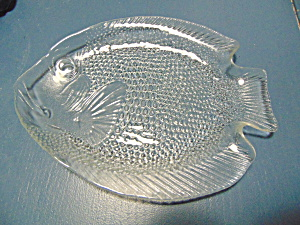 Arcoroc Clear Fish Plates Made In France
