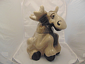 Bearfoots Cookie Jar By Big Sky Carvers Moose By P. Driscoll