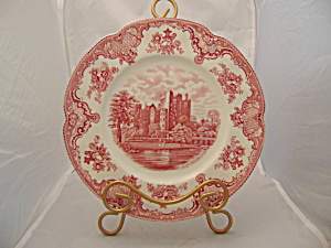 Johnson Old Britain Castles Pink Dinner Plate(S)