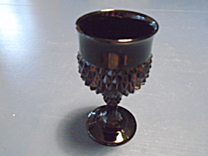 Indiana Glass Black Diamond Point Water Goblets (Image1)