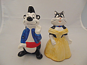 Warner Bros. Pepe Le Pew/penelope Date Night S/p Shakers