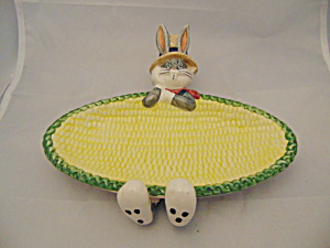 Warner Bros. Bugs Bunny Butter Or Corn Cob Dish