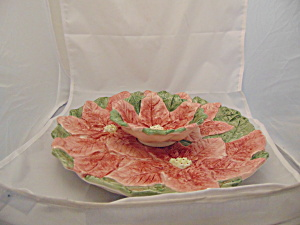 Oci Poinsettia Chip And Dip Set