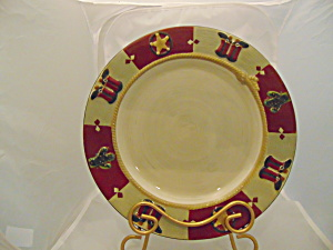 St. Nicholas Square Happy Trail Holiday Dinner Plate(S)