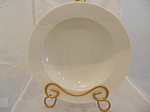 Dansk Winter White Rimmed Soup Bowls Bangladesh