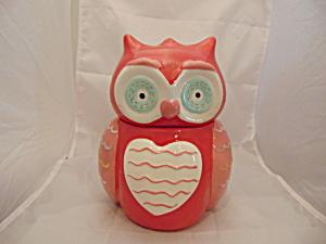 Valentine's Day Red Owl Cookie Jar (Image1)