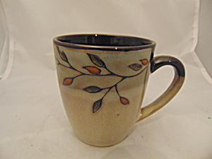 Pfaltzgraff Pastoral Leaves Mugs(S)
