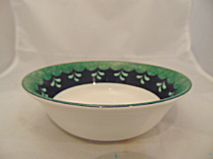 Lenox Bedazzled Emerald Cereal Bowl(S)
