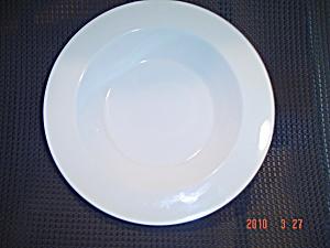 VINTAGE Centura/Pyroceram Narrow Rimmed Flat Soup Bowls (Image1)