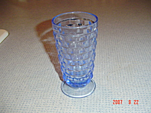 Whitehall Fostoria American Indiana Glass Blue Iced Tea Glass(Es)