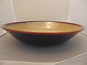 Sango Nova Brown Large Salad Serving Bowl 12.5 In