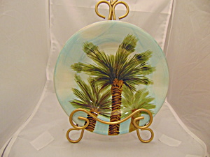 Tabletops Baja Palm Salad Plate(S)