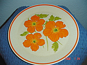 Lenox Temperware Fire Flower Bread & Butter Plates