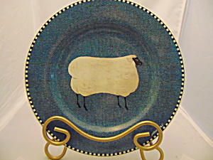 Sakura Brandon House Barnyard Sheep Salad Plate(S)