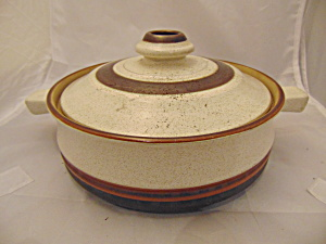 Denby Potter's Wheel Red 1 Qt. Covered Casserole