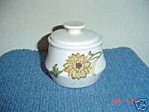 Noritake Progression Aloha Covered Sugar Bowl