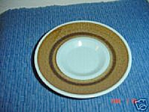 Franciscan Nut Tree Saucers