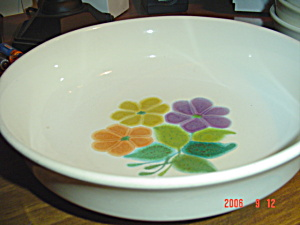 Franciscan Floral Large Serving Bowl