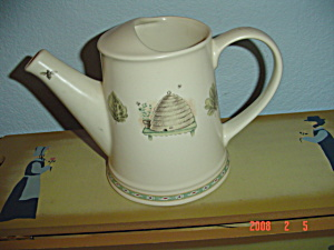 Pfaltzgraff Naturewood Juice Pitcher/watering Can
