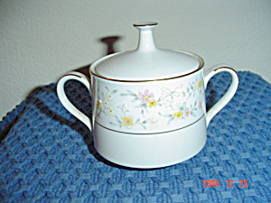Noritake Delevan Covered Sugar Bowl