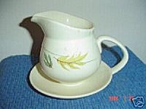 Franciscan Autumn Gravy Boat W/attached Tray