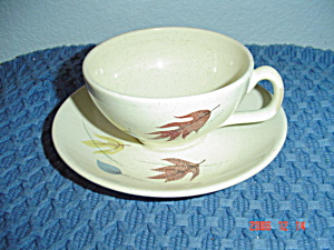 Franciscan Autumn Cups And Saucers