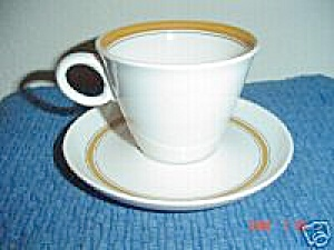 Franciscan Pickwick Pickwick Cups And Saucers