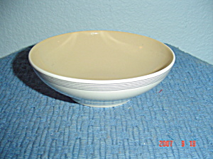 Franciscan Fan Tan Dessert Bowls