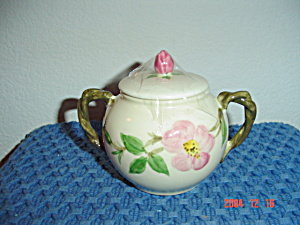 Franciscan Desert Rose Covered Sugar Bowl