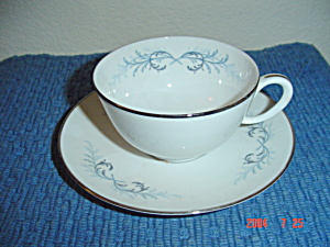 Franciscan Lucerne China Cups And Saucers