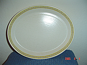 Franciscan Hacienda Gold Small Oval Platter