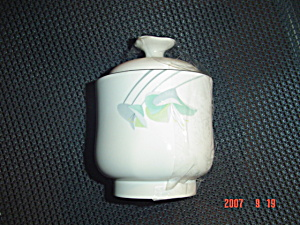 Sango Fleur Nouvelle Covered Sugar Bowl