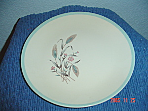 Homer Laughlin Spring Garden Lunch Plate
