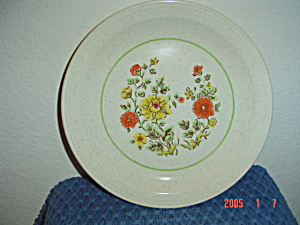 Homer Laughlin Garden Song 1080 Dinner Plates