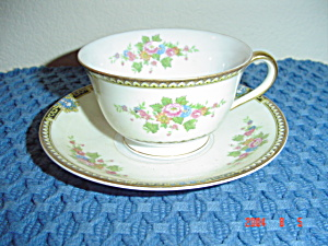 Noritake M Cup And Saucer