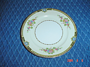Noritake M Bread And Butter Plates - Gold Trim