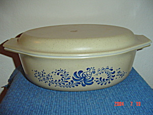 Pyrex Homestead 1.5 Quart Oval Covered Casserole (Image1)
