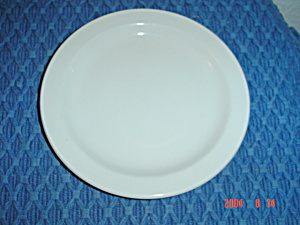 Midwinter Wedgwood Stonehenge White Dinner Plates (Image1)