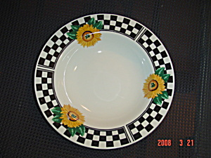 Tabletops Sunny Rimmed Soup Bowls