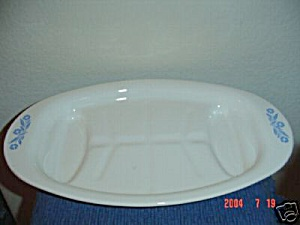 Corning Ware Cornflower Blue Meat Platter (Image1)