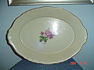 Syracuse China Rosalie Oval Platter