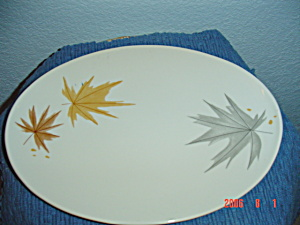 Iroquois Harvest Time Ben Seibel Large Oval Platter