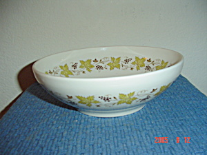 Syracuse China Carefree Vintage Serving Bowl